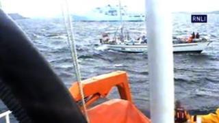 Alba Venturer rescue