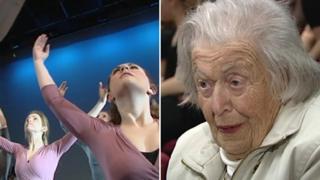 Ballet performed for Anka Bergman