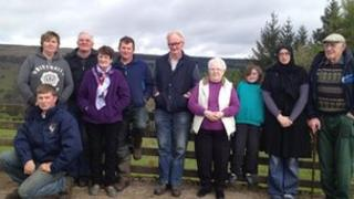 Glenariff residents opposed to the mast being turned off