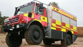 All terrain vehicle for Staffordshire fire service