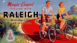 Raleigh advert