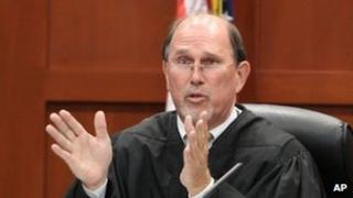 Jude Kenneth Lester speaks during a hearing 27 April 2012