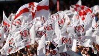 Ulster supporters