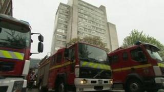 Training at Salford flats