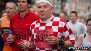 Marathon runner (Stewart Band)