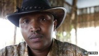 Bosco Ntaganda photographed in Goma in October 2010