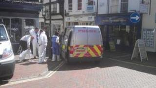 Ashford assault scene