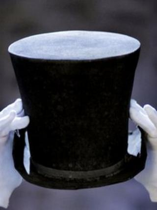 Sir Walter Scott's hat
