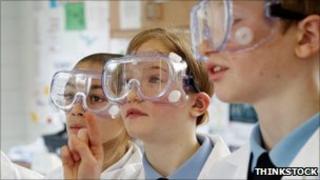 Science pupils
