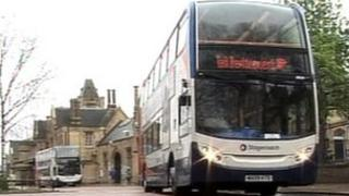 Rail replacement bus service