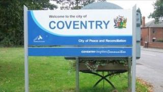 Coventry sign