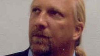 City of London Police custody shot of Michael Brown