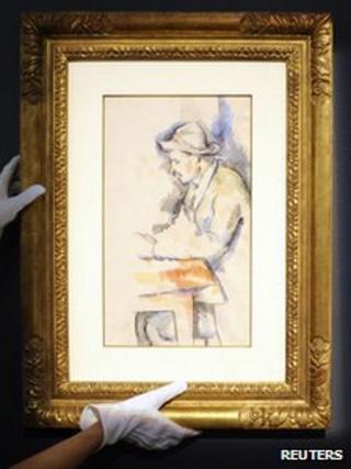 Cezanne's Card Player