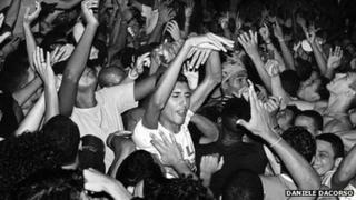 Baile funk party in Rio