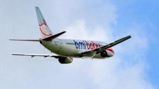 BMI Baby plane