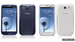 Samsung Galaxy S3 phones