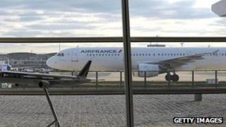 An Air France aircraft