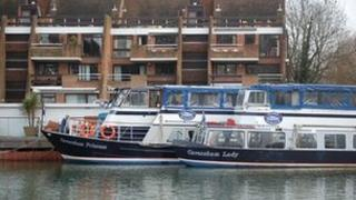 Thames River Cruise boats
