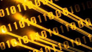 Fibre optic cable and binary code; Eyewire