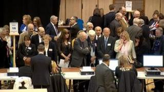 The count in Inverness