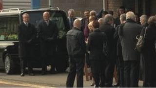 Bertie Acheson's funeral