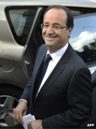 Francois Hollande (6 May 2012)