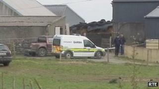 Scene of shooting at Glencorrib in County Mayo
