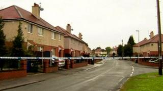 Crime scene Tyldesley