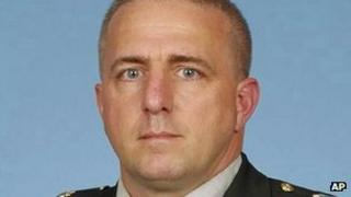 US Army handout photo of Capt Bruce Kevin Clark