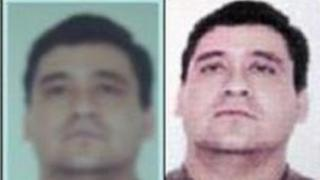 Photos of Javier Antonio Calle Serna released by the Colombian police