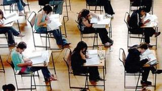 Students sitting exams (generic)