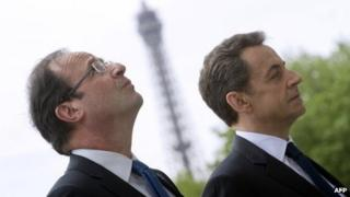 Mr Hollande and defeated