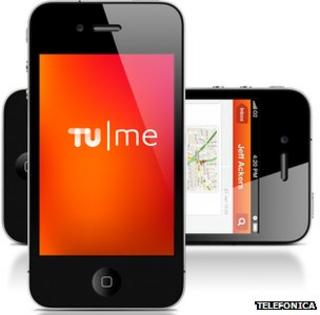 Tu Me app on iPhones