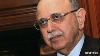 Libyan Prime Minister Abdurrahim al-Keib (file image)