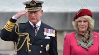Duke and Duchess of Rothesay