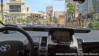 Handout photo from the Nevada Department of Motor vehicles