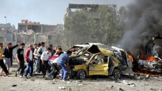 Deadly bombs explode in Syria