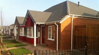 Chell Heath council houses