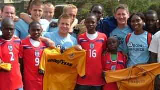 Taking Football to Africa and Beyond charity