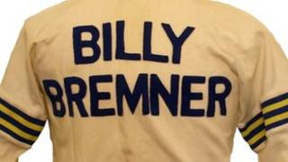 Back of Billy Bremner track suit