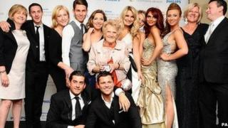 The cast of The Only Way Is Essex