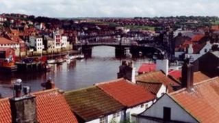 Whitby skyline
