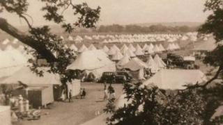 Basque children's temporary camp