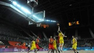 London Prepares Series Invitational at the Basketball Arena in the Olympic Park in August 2011