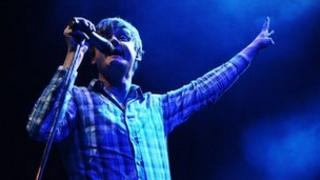 Tom Chaplin of Keane