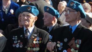Russian veterans