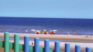 Mablethorpe beach