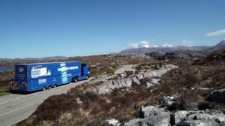 Screen Machine in Highlands