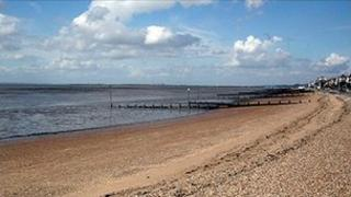 Southend beach