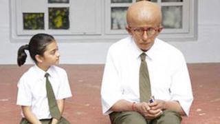 Taruni Sachdev with Amitabh Bachchan in Paa
